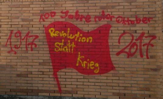 Revolution statt Krieg